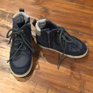BabyGap Lace up high top boots